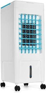 Auua 8L - Aire acondicionado portátil evaporable ventilador enfriador de hielo, humidificador de aire, 3 modos de viento, uso doméstico, iones negativos