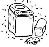 Admiral Bread Machine Maker Instruction Manual (BM638) Reprint [Plastic Comb]