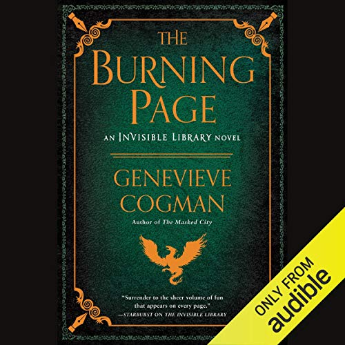 The Burning Page cover art