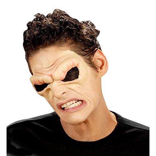 NET TOYS Yeux de démon Effets spéciaux Halloween Couleur Chair Yeux de Diable démon Satan Monstre Yeux d'alien Yeux Costume Accessoire