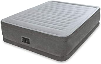 Comfort Plush Air Bed Queen Size with built-in Electric Air Pump, Intex 64414