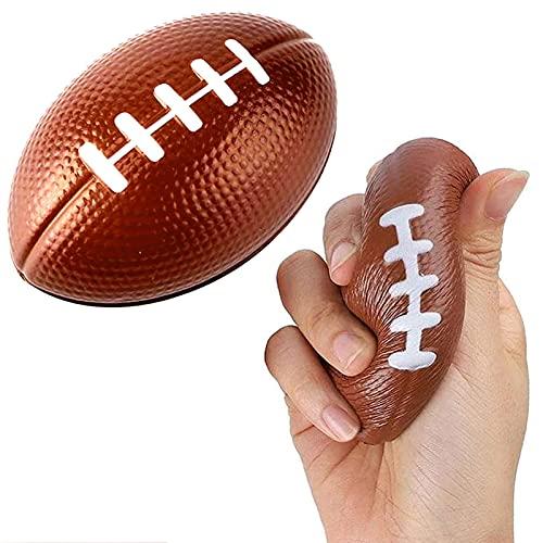GFSHXYAI Handtrainer Mini Rugby American Football Kindergarten Baby pu Ball Spielzeug Bälle Squeeze Schwamm Bälle Anti Stress Bälle Dekompression Spielzeug