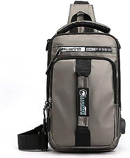 Nylon Chest Bag Multi-Functional Casual Shoulder Bag Backpack