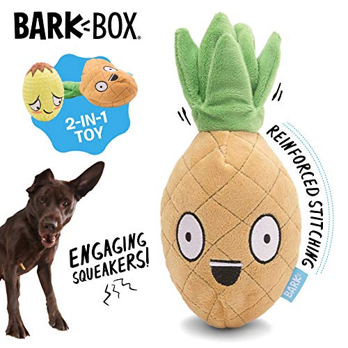 Barkbox Penny The Pineapple Dog Toy for Medium to...
