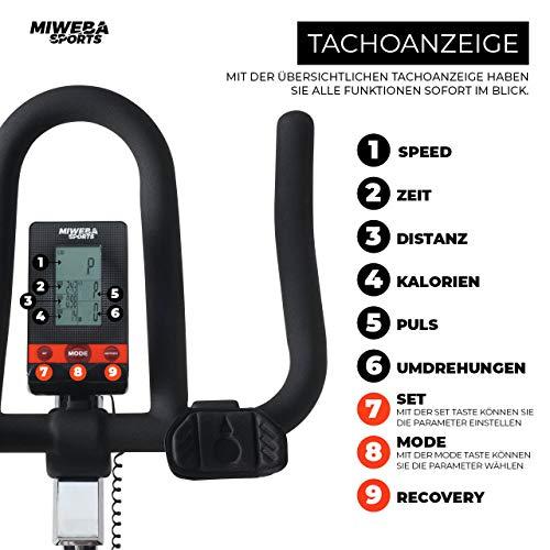 Profi Indoor Bike MS400 Ergometer Heimtrainer Bild 6*