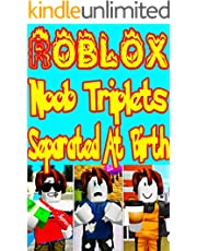 Diary Of Roblox story comic: Noob Triplets Separated At Birth (English Edition)