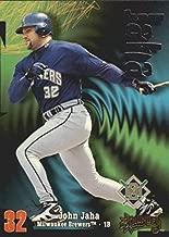 1998 Circa Thunder #62 John Jaha MLB Baseball Trading Card