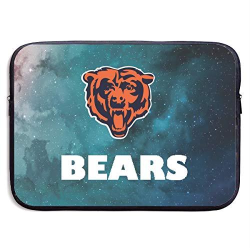 Stockdale Chicago Bears Laptop Sleeve 15 Inch Waterproof Neoprene Computer Bag