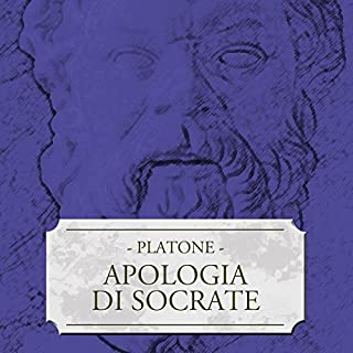 Apologia di Socrate audiobook cover art