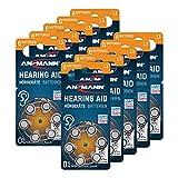 ANSMANN Hörgerätebatterien 13 (Orange 60 Stück)...