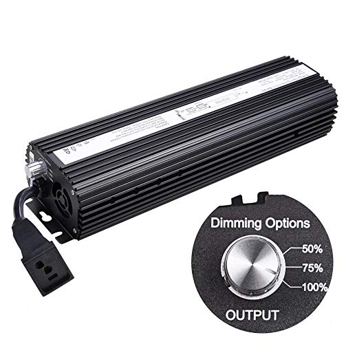 1000w Digital Electronic Dimmable Ballast for MH HPS Grow Light System