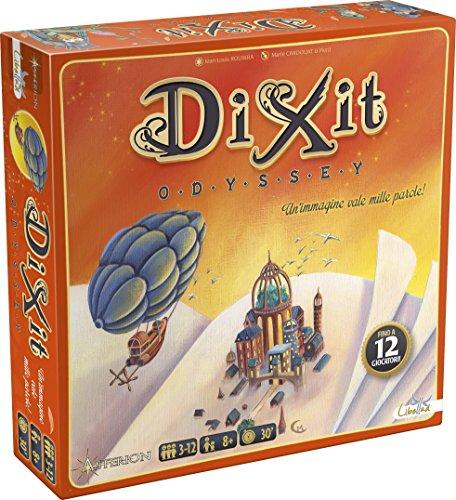 Asterion 8005 - Dixit Odyssey, italienische Ausgabe Gesellschaftsspiel Single Mehrfarbig