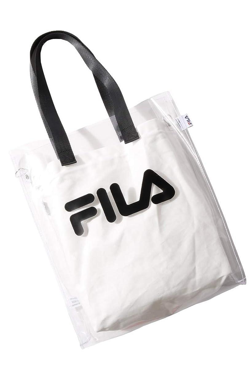 出席するブラウザ羊の服を着た狼[フィラ] FILA クリアトートバッグ fm2146