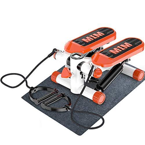 2In1 Twister Stepper elliptisch - Sidestepper voor beginners en gevorderde gebruikers, crosstrainer voor oefeningen Up-Down-Stepper met multi-display