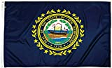 FlagSource New Hampshire Nylon State Flag, Made in the USA, 3x5