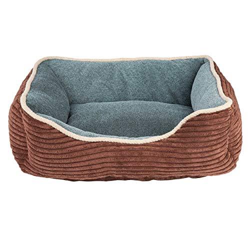 ONVAYA® Hundebett waschbar kuschelig | Hundesofa mit hohem Rand | Hundecouch | Hundekörbchen