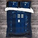 Knncch Zeitreise Tardis Doctor Who 3-teiliges Bett