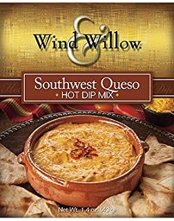 Wind and Willow Southwest Queso Hot Dip Mix - 1.4 Ounce (4 Pack)