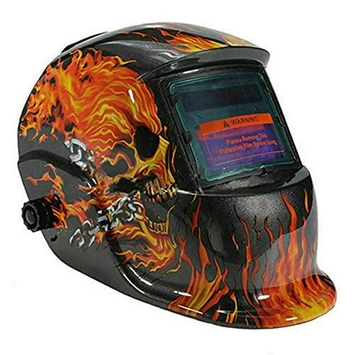 ConPush Maschera Saldatura Autoscurante, casco saldatura, maschera per saldatura, maschera per saldare autoscurante,maschera saldatore nero
