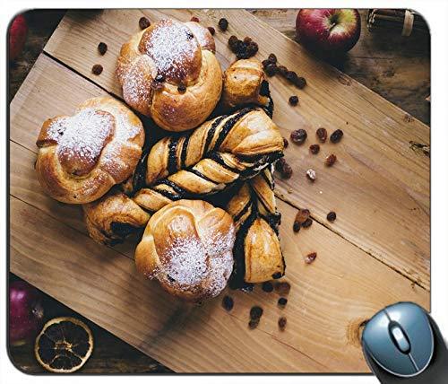 Brot Äpfel Essen Personalisierte Rechteck Maus Pad Maus Matte