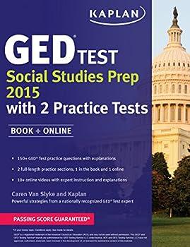 Kaplan GED Test Social Studies Prep 2015  Book + Online  Kaplan Test Prep