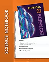 Glencoe Physical iScience, Grade 8, iScience Notebook, Student Edition (GLEN SCI: INTRO PHYSICAL SCI)
