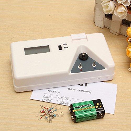 MASUNN 191 Soldeerbout Tip Thermometer Sensor Lijn Digitale Tester Temperatuur Test