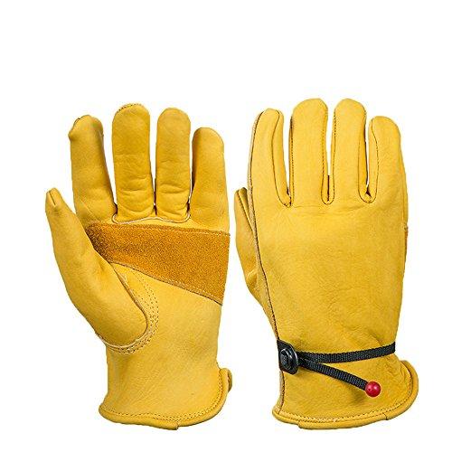 VLHVAQ DFRXK-HM Gartenhandschuhe Handschuhe Gartenarbeit Klettern Klettern Sportarten für Männer & Frauen Heim Gartenarbeit Multifunktions-Arbeitshandschuhe (Größe : L)