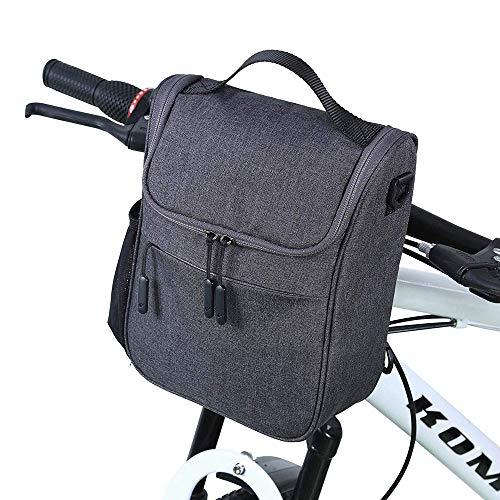 CHENYE Manillar de la Bici del Bolso, Impermeable Frente de la Bicicleta Bolsa de Gran Capacidad Multi-función del Frente del Jefe Bicicleta Plegable Bolsa de Coche eléctrico