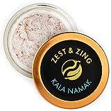 Zest & Zing Sal Kala Namak Black (Polvo), 50G Tarro De Especias - Sales Premium De Zest & Zing. Tarros De Especias Más Frescos, Convenientes Y Apilables. 154 g