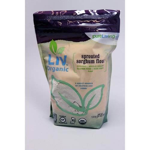 Sprouted Sorghum Flour, Organic, Gluten Free - 24 oz (Pack of 6)