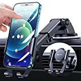VICSEED Universal Phone Holder for Car [0.5s Easy Slide] Car Phone Holder Mount Ultra Stable Car Cell Phone Holder Dashboard Windshield Air Vent Cell Phone Car Mount Vehicle Fit for All Mobile Phones