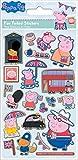 Paper Projects 01.70.06.145 Peppa Pig Glorious Britain Paquete de pegatinas, 19,5 cm x 9,5 cm