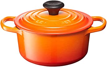 Le Creuset of America Enameled Dutch Oven, 2.75 qt, Flame
