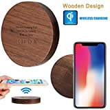 Fast Wireless cargador, fundido Power porttil inalmbrico carga Qi Charger Soporte de...