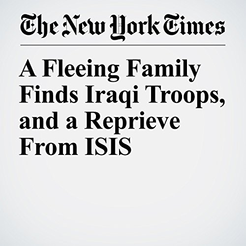 A Fleeing Family Finds Iraqi Troops, and a Reprieve From ISIS copertina