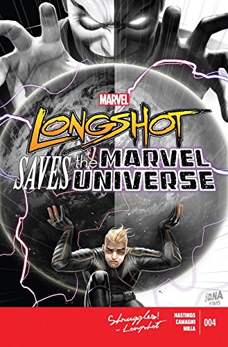 Longshot Saves The Marvel Universe #4 (of 4) (English Edition)