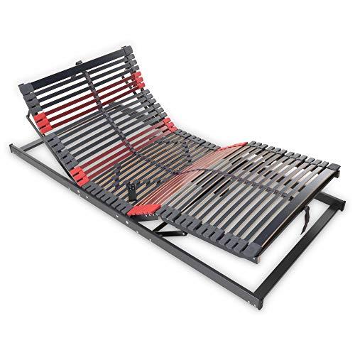 Betten-ABC Max-Premium Elektro, Lattenrost mit elektrischer Kopf- und Fußteilverstellung, 7 Zonen Größe 90x200
