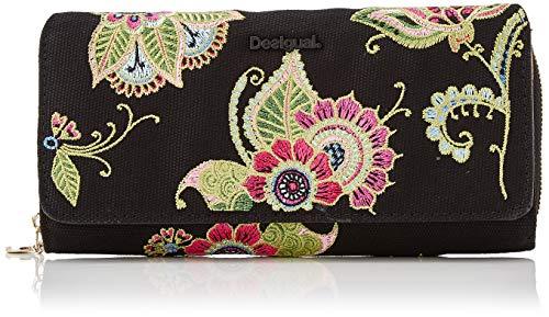 Desigual Damen Wallet Anubis Maria Geldbörse, Pink (Fucsia), 9.5x3x20.2 cm