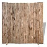 Pantalla de jardín de rollo de cribado, valla de panel, valla, valla de privacidad penal, valla de bambú, 180x170 cm