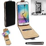 K-S-Trade Für Marshall London Flipstyle Schutz Hülle 360° Smartphone Tasche, Schwarz, Hülle Flip Cover Für Marshall London