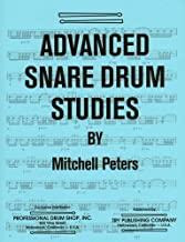 TRY1065 - Advanced Snare Drum Studies by Mitchell Peters (1971-01-01)