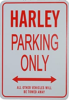 Harley Parking Only - Miniature Personalized Parking Sign
