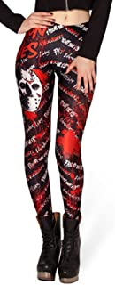 Classic Horror Jason Character one Size Fits Most Novelty Leggings