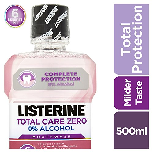 Listerine Total Care Zero MouthWash Smooth Mint, 500 ml