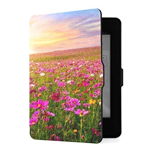 Kindle Paperwhite 1 2 3 Hülle, schöne erstaunliche Cosmos Flower Field Landschaft...
