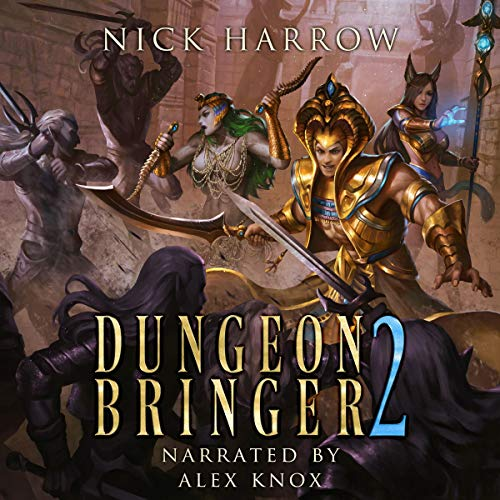 Dungeon Bringer 2 audiobook cover art