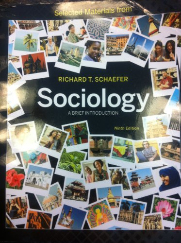 Selected Materials from Sociology: A Brief Introduction
