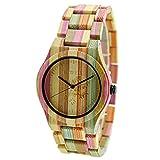 Bewell Casual reloj de pulsera de poco peso Mujer Reloj De Cuarzo Analógico Reloj w105dg