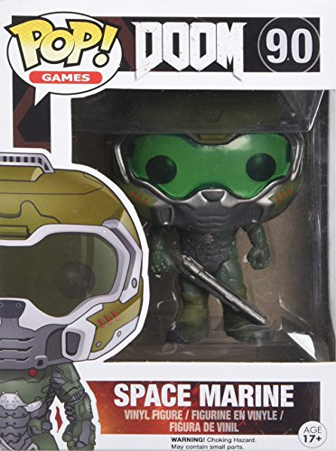 Funko 022573 S1 No POP Vinylfigur: Doom: Space Marine, Multi